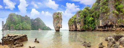 Stampa su Tela James Bond Island, Phang Nga, Thailand