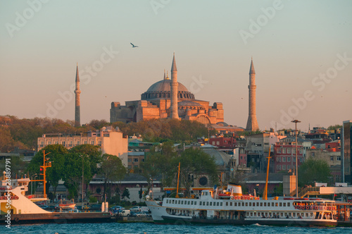 Fotografiet Hagia Sophia - Istanbul