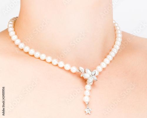 Obraz na płótnie Pearl Necklace