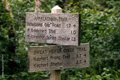 Valokuva Trail sign
