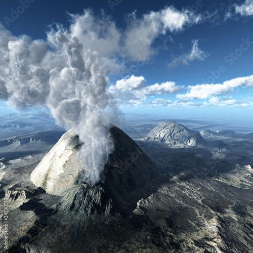 Volcanic eruption Fototapete