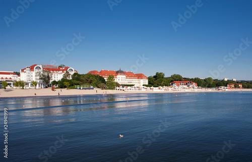 Baltic sea coast in Poland, Sopot #24941999