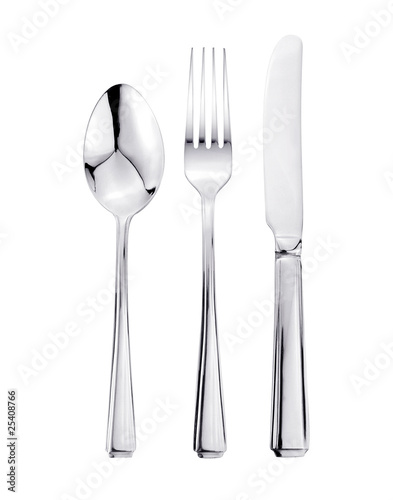 Knife, Fork and Spoon Cutlery Set