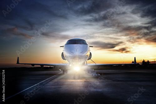 Fotografie, Tablou Challenger Jet 300