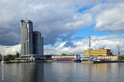 Port in Gdynia, Poland. #25618708