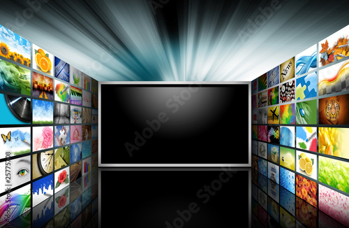 Flat Screen Television with Images #25775708