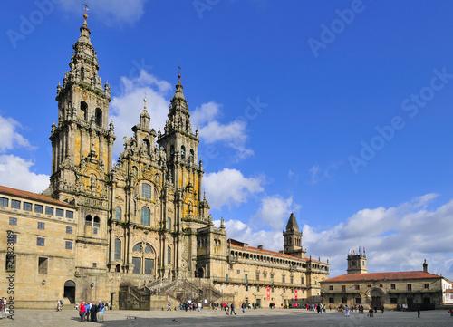 Canvas Print Santiago de Compostela Cathedral