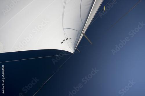 Sails in the blue sky Fototapeta