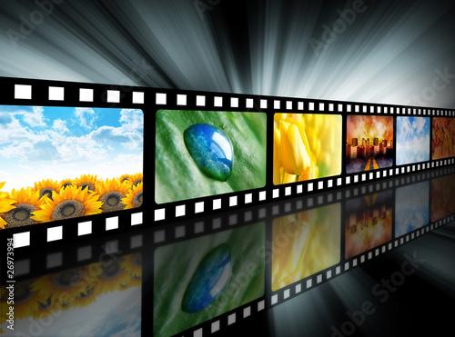 Movie Entertainment Film Reel #26973994