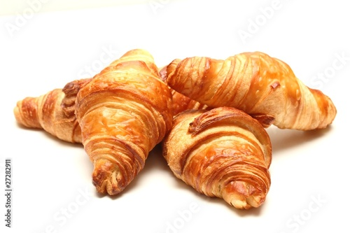 Fototapeta croissant bio