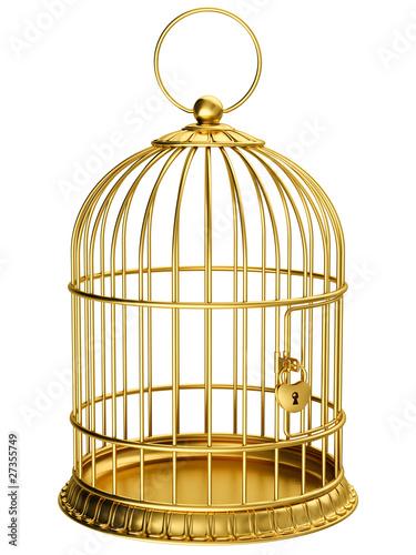 Valokuvatapetti Gold cage