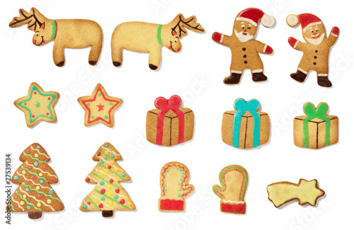 Slika na platnu biscotti natalizi