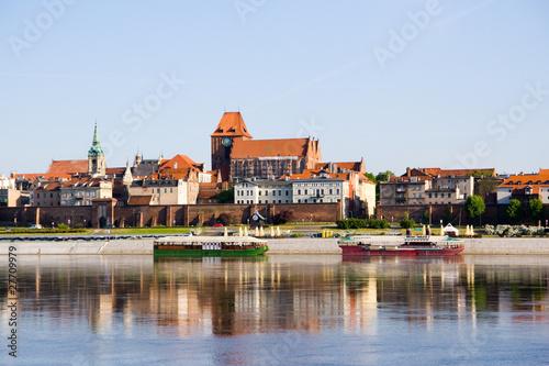 Panorama of Torun, Poland