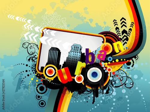 urban vector illustration