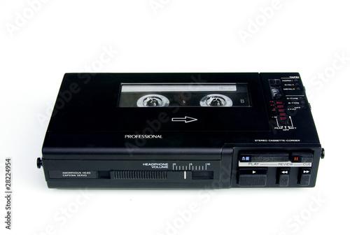 Fotografia Professional walkman cassette recorder