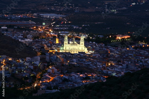 Vista panorámica de Jaén