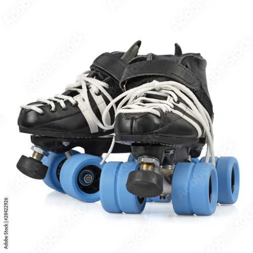 Foto Roller derby skates isolated
