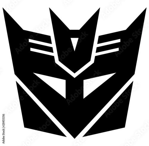 Photo Transformers. Desepticon emblem