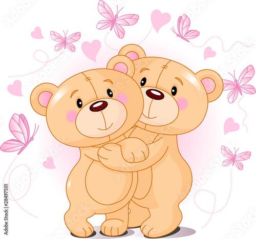 Teddy bears in love #28497501