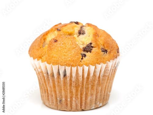 Stampa su Tela Fresh chocolate muffin close-up