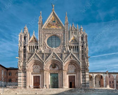 Carta da parati Siena Cathedral, Italy in morning light