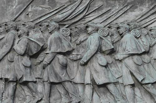Foto Civil War Calvary Statue