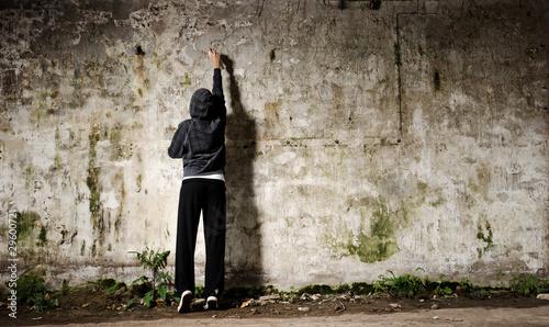 Fotografie, Obraz Graffiti youth