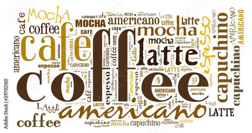 Fototapeta premium Plakat do dekoracji kawiarni lub kawiarni