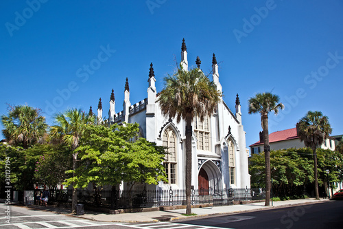 Fotografia Huguenot Church in Charleston