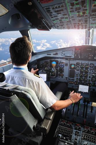 Tablou Canvas pilote d'avion