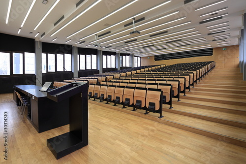 lecture room Fototapeta