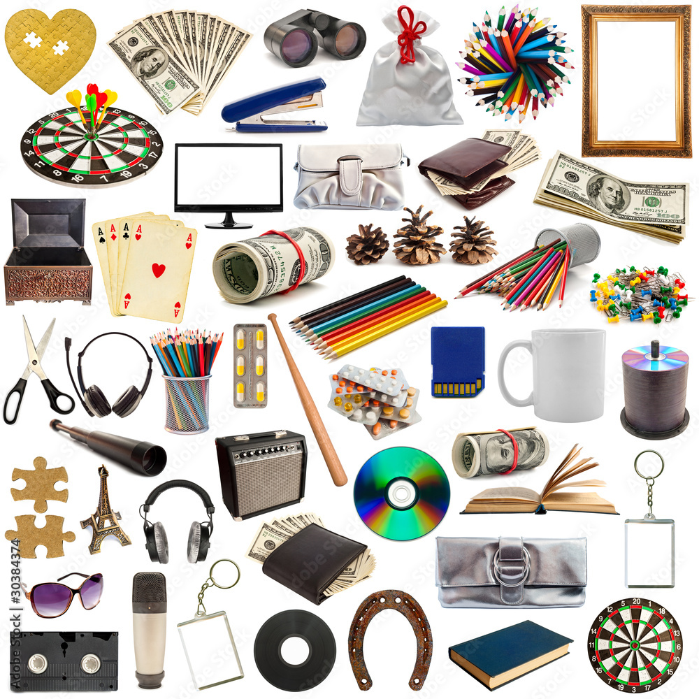 collection of objects