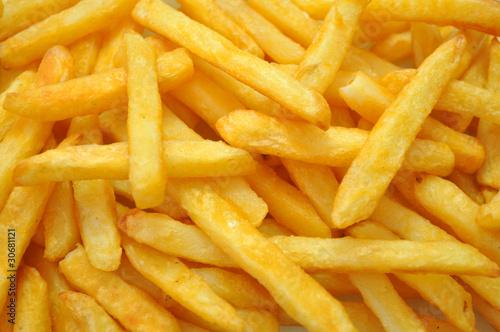Canvastavla French fries