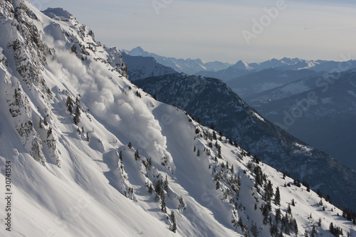Slika na platnu avalanches 7