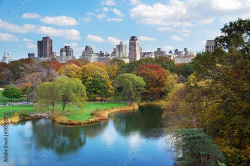New York City Central Park Fototapet