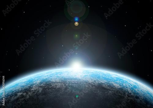 Tablou Canvas 惑星03