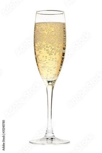 Vászonkép Champagne glass