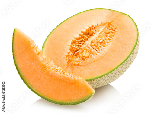 Canvas Print cantaloupe melon