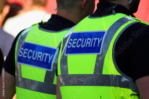 Fototapeta Security Guards
