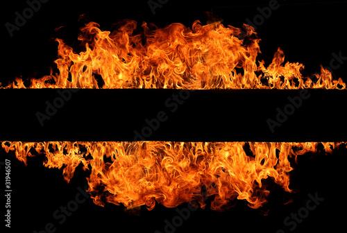 Flame stripe #31946507