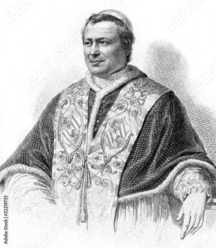 Fotografia Pope Pius IX