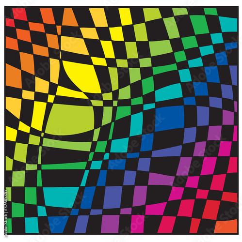 Tablou Canvas chessboard color