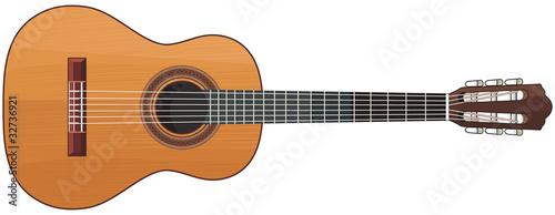 Stampa su Tela guitar
