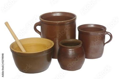 Foto dish  stoneware clay