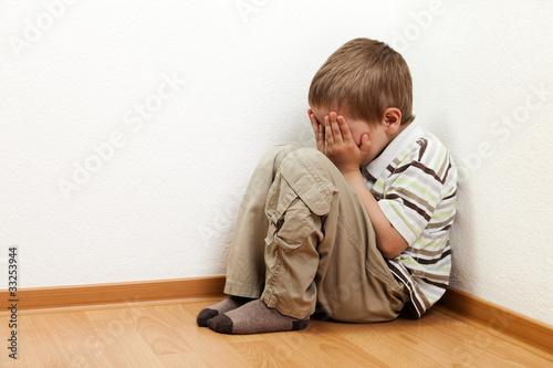 Carta da parati Child punishment