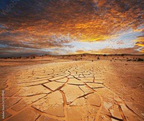 Photographie Drought land