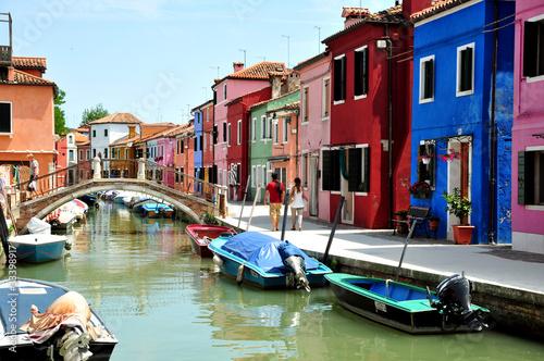 Carta da parati Burano - Venezia