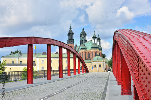 Bishop's Jordan Bridge in Poznan, Poland