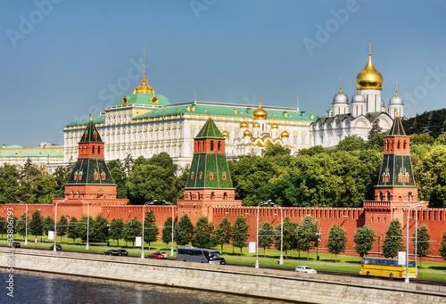 Obraz na plátně Moscow Kremlin