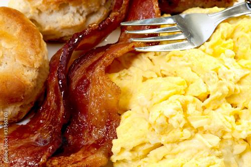 Country Breakfast Closeup